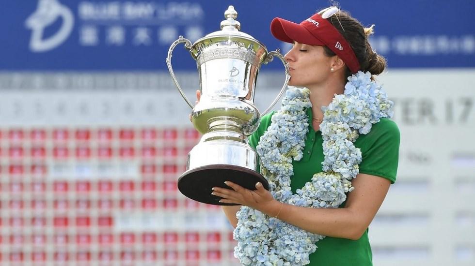 Gaby López logra su primer triunfo LPGA en China - Foto de @LPGA