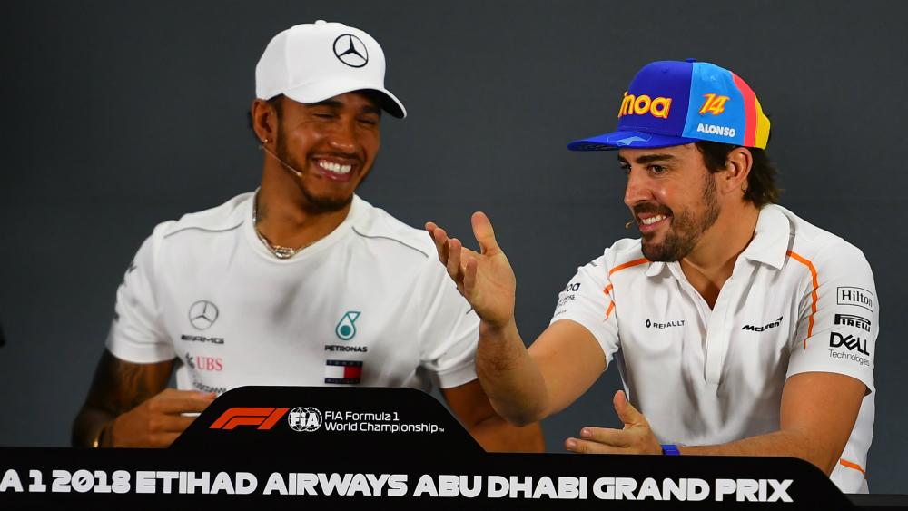 El deporte extrañará a Fernando Alonso: Hamilton - Foto de AFP