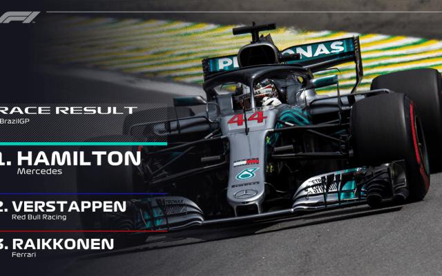 Lewis Hamilton gana el Gran Premio de Brasil - Hamilton gana el gran premio de brasil