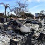 Aumenta a 50 cifra de muertos por incendios en California - Foto de Frederic J. BROWN / AFP.