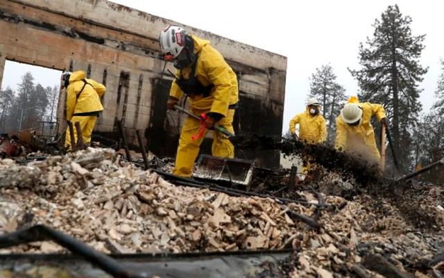 Suman 83 muertos por incendioen California - Foto de AFP