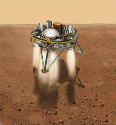 InSight. Foto de JLP / NASA