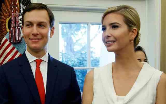 Ivanka Trump felicita a Jared Kushner por Orden Mexicana del Águila Azteca - Foto de Fortune.