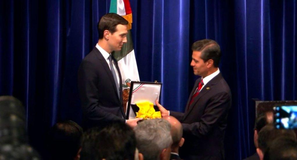 Declaran constitucional condecoración entregada por México a Jared Kushner - Kushner