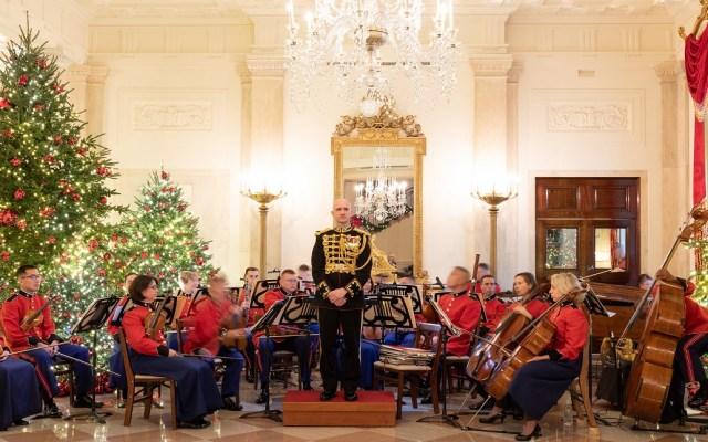 #Video La espectacular decoración navideña de la Casa Blanca - La inauguración de la decoración navideña fue amenizada con música en vivo. Foto de The White House