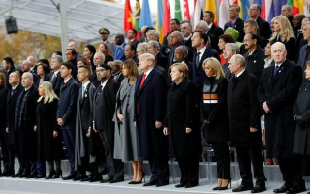 Líderes del mundo conmemoran el fin de la Primera Guerra Mundial - lideres del mundo conmemoran el fin de la primera guerra mundial