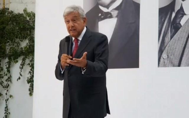 Realizarán marcha a favor de López Obrador - López Obrador en conferencia de prensa. Captura de pantalla