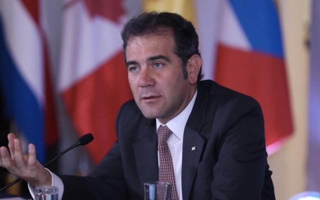 INE niega que hubiera recursos del narcotráfico en campañas electorales - Foto de Twitter Lorenzo Córdova