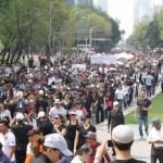 Al menos seis movilizaciones en la Ciudad de México - Foto de Notimex