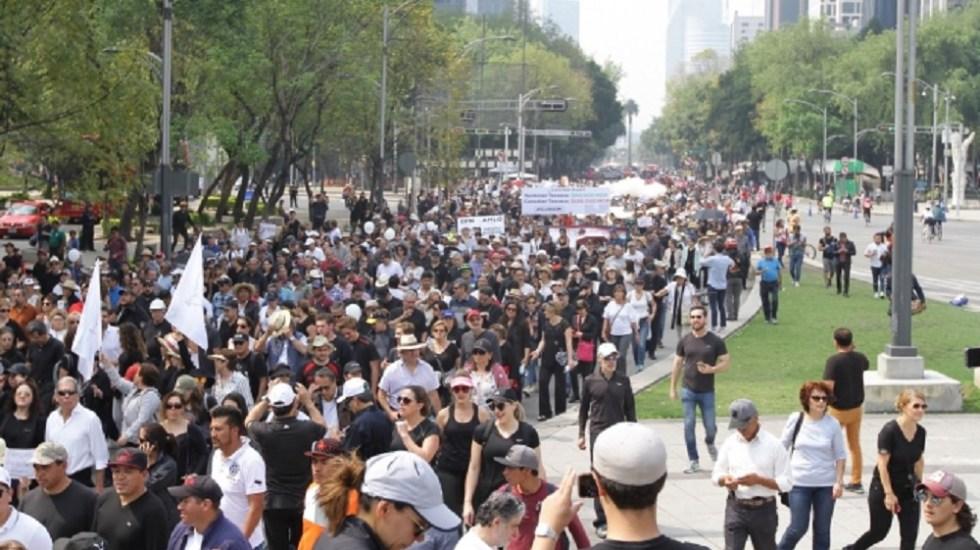 Cuatro movilizaciones afectarán la Ciudad de México - Foto de Notimex