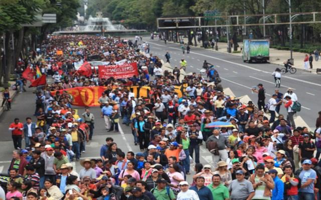Las manifestaciones de este jueves en la Ciudad de México - la movilizaciones de este domingo