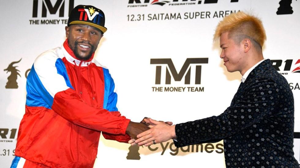 Mayweather peleará contra luchador de kick boxing japonés - mayweather Nasukawa