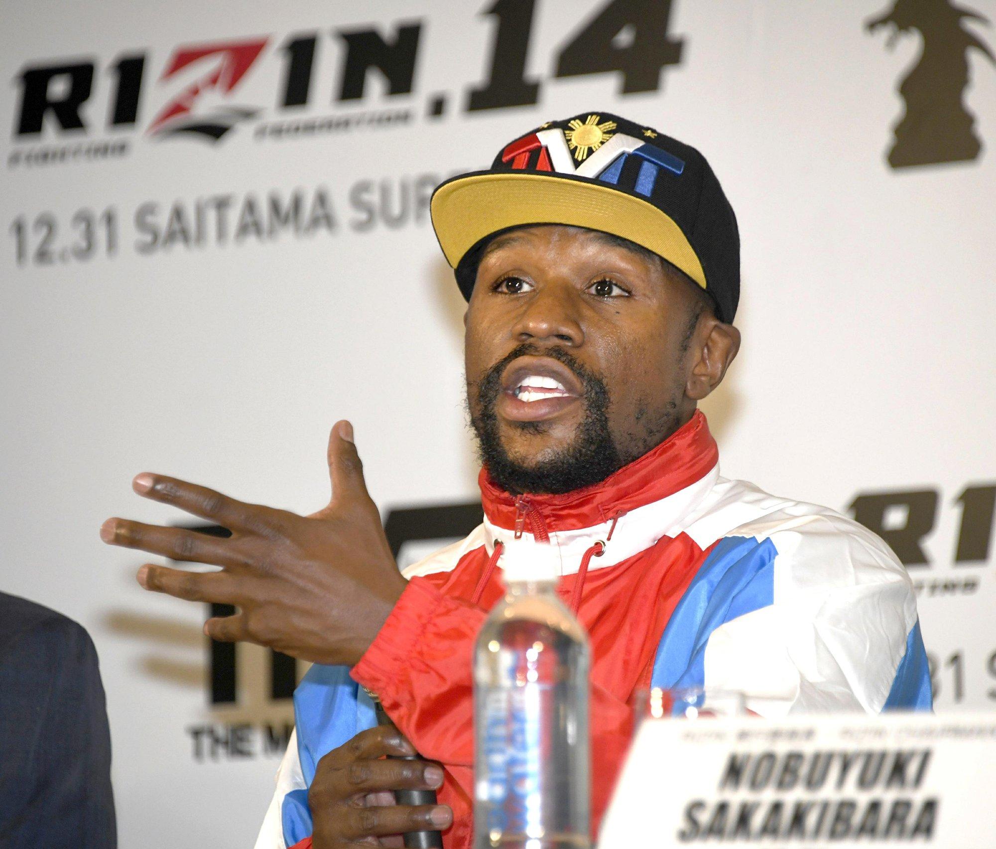 Mayweather se enfrentará a un kickboxer japonés invicto como él en Saitama