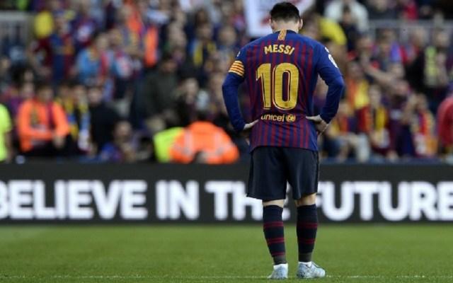 Messi se ausenta en juicio por incumplimiento de contrato - Foto de Josep LAGO / AFP