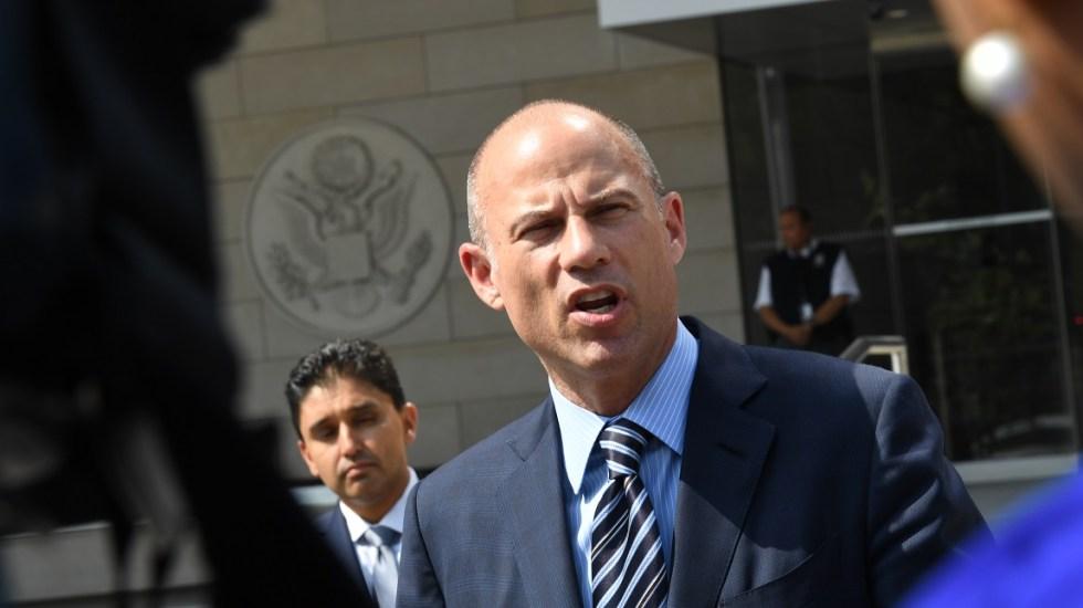 Acusan de extorsión a exabogado de Stormy Daniels - Michael Avenatti. Foto de AFP / Mark Ralston
