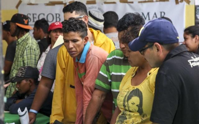 Migrantes en Ciudad de México buscarán trabajo legal en el país - migrantes buscarán trabajo formal en mexico