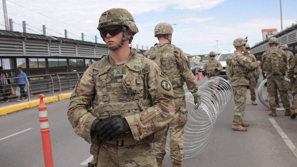 Tras comicios Trump debe retirar tropas de la frontera: Washington Post - Militares arribaron este fin de semana a la frontera Hidalgo de Texas. Foto de AFP /Getty Images