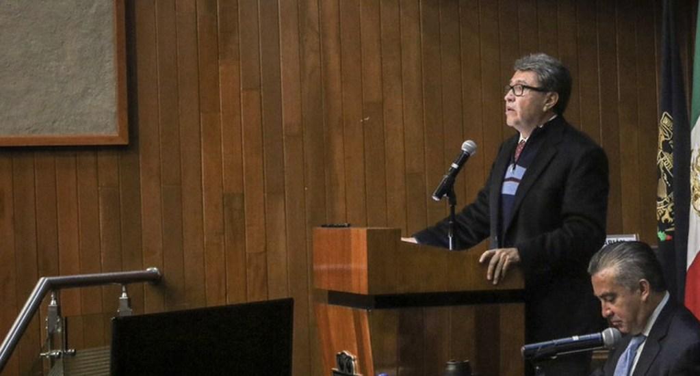 Monreal pide a PGR informe sobre investigaciones por corrupción contra jueces y magistrados - Foto de Twitter Ricardo Monreal