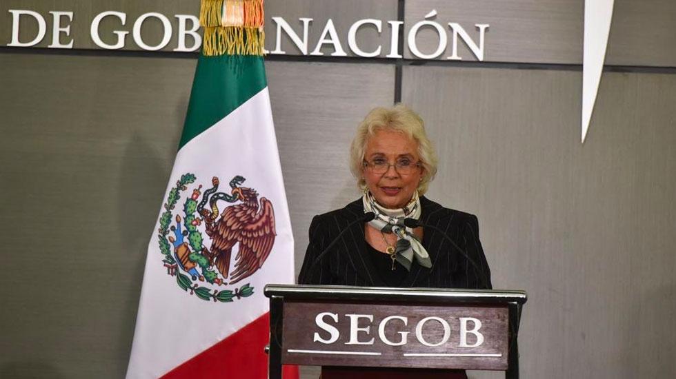 La política interior tendrá una visión distinta, la de los ojos de una mujer: Sánchez Cordero - Olga Sánchez Cordero recibe la Secretaría de Gobernación