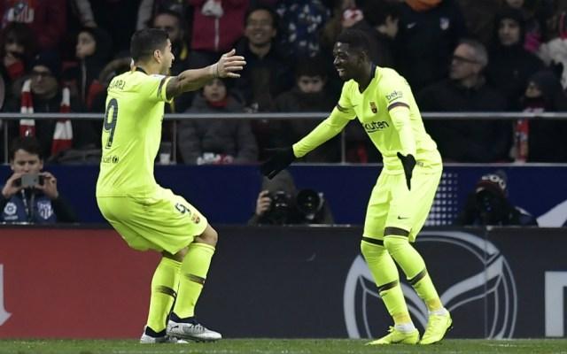Barcelona consigue agónico empate frente al Atlético de Madrid - Foto de AFP
