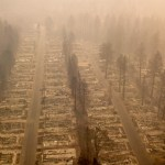 Más de mil personas desaparecidas por incendio forestal en California - Foto de AFP