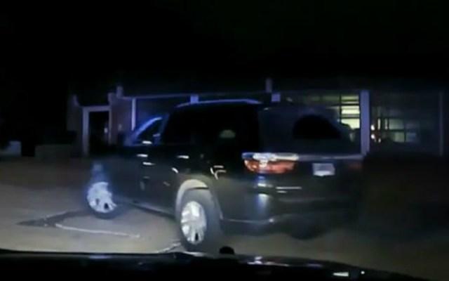 #Video Policía persigue a niño por robar la camioneta de su madre - Foto de Internet