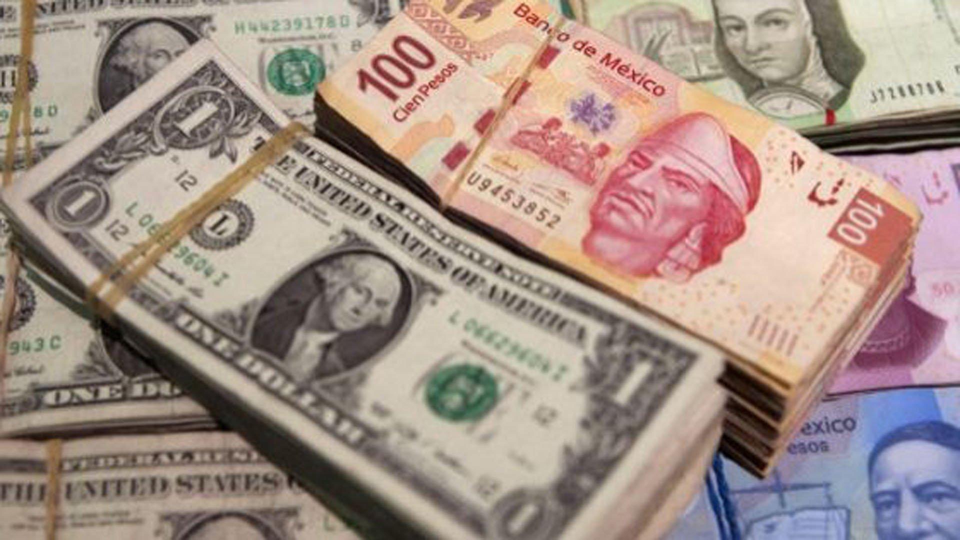 El peso modera caída frente al dólar por lópez obrador