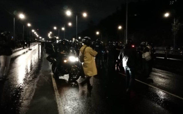 Tras 20 horas, liberan la autopista México-Pachuca - Foto de Milenio