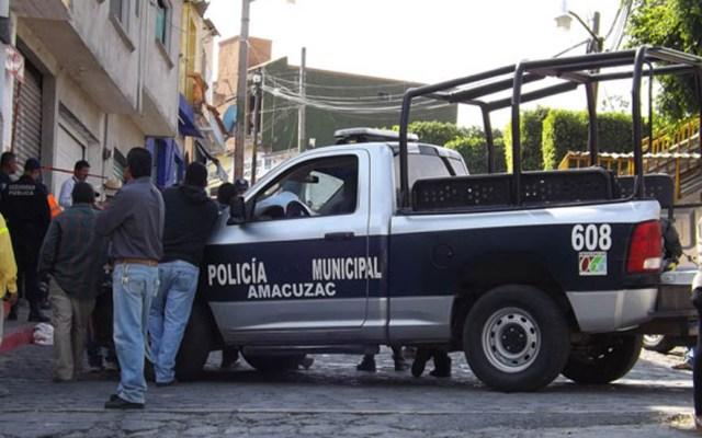 Tiroteo en billar de Amacuzac deja seis muertos - Policía Municipal de Amacuzac. Foto de Internet