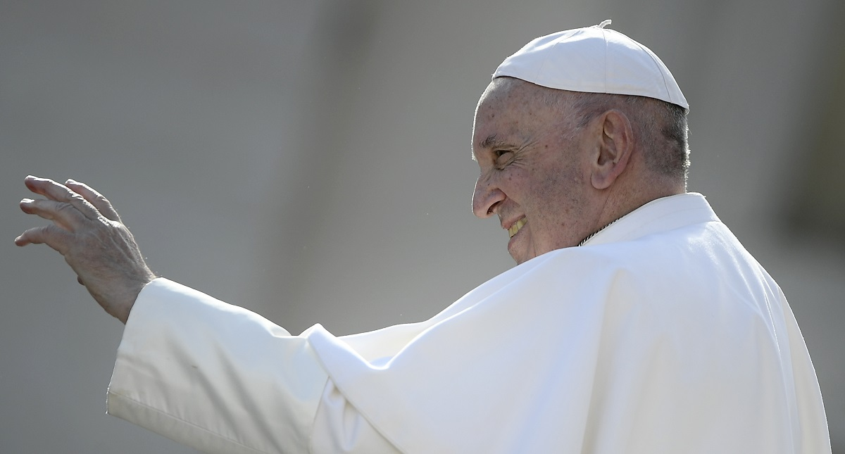 Papa Francisco. Foto de AFP / Filippo Monteforte