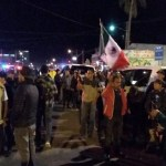 #Video Vecinos protestan contra migrantes en Tijuana