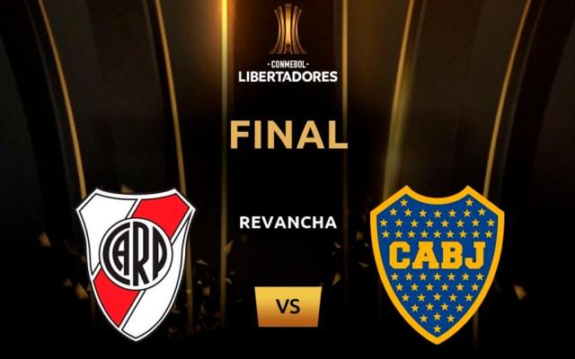 Conmebol abre proceso disciplinario contra River - Foto de @Libertadores