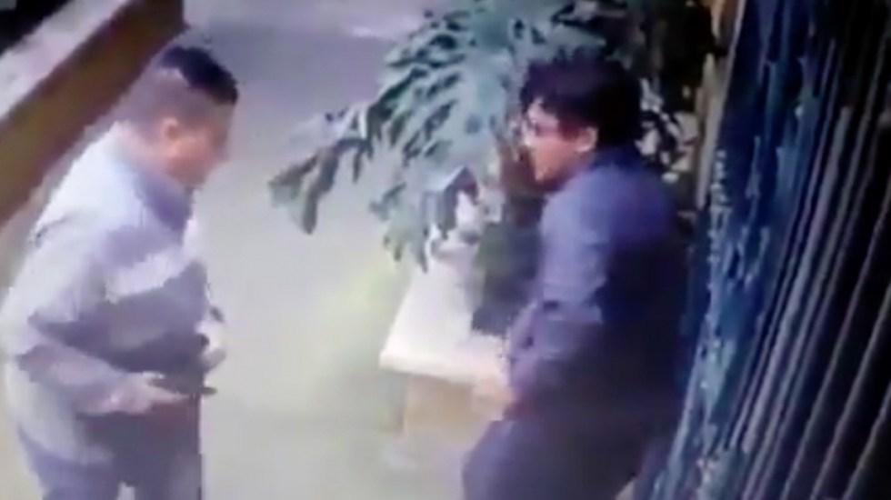 #Video Roban a hombre en la Roma Norte