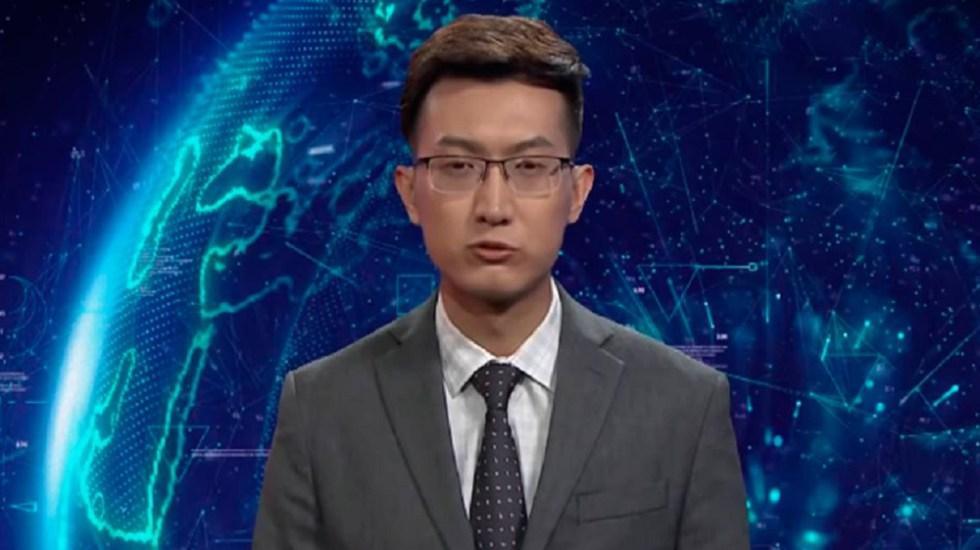 #Video Robots presentan noticias en China - Foto de internet