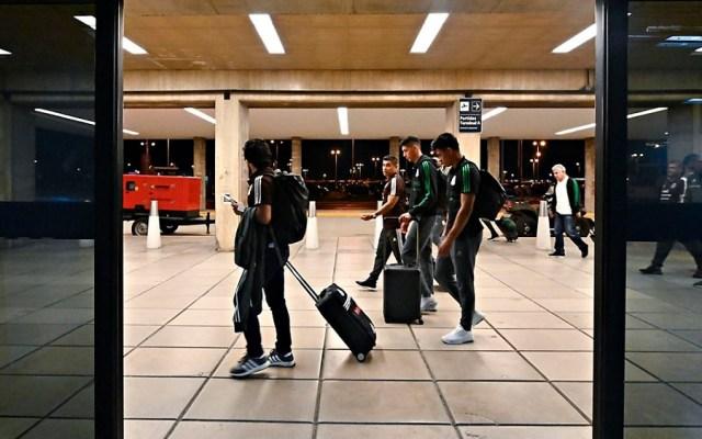 Selección Mexicana llega a Córdoba para amistoso contra Argentina - Foto de @miseleccionmx
