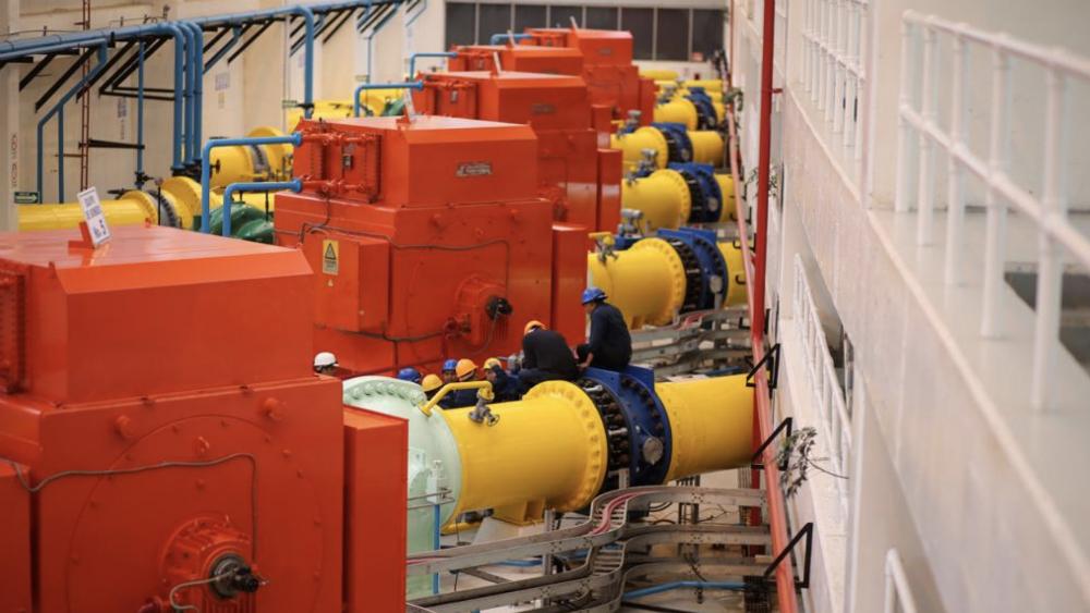 Reinició operaciones el Sistema Cutzamala - Foto de @conagua_mx