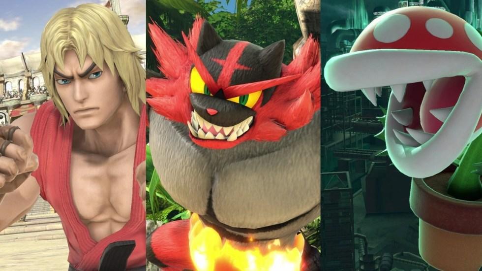 Presentan tres nuevos personajes para 'Smash Bros. Ultimate' - Foto de Nintendo