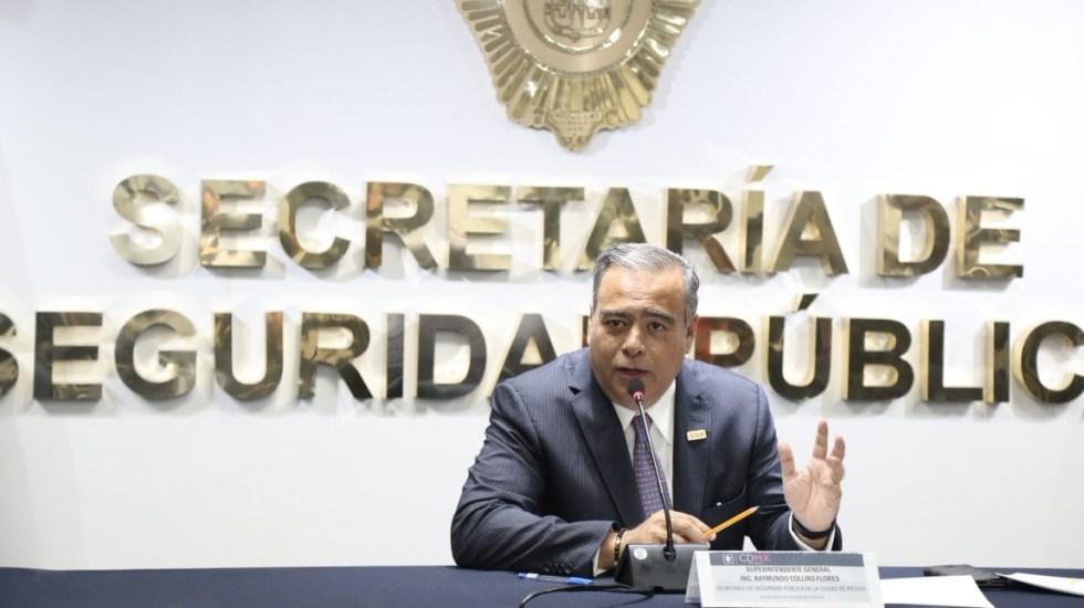 Detienen a colombianos acusados de robo a casa habitación en Miguel Hidalgo - Foto de Twitter SSP