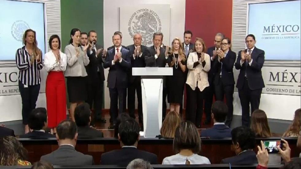 #Video Staff de Presidencia agradece a Enrique Peña Nieto - Staff de Presidencia. Captura de pantalla