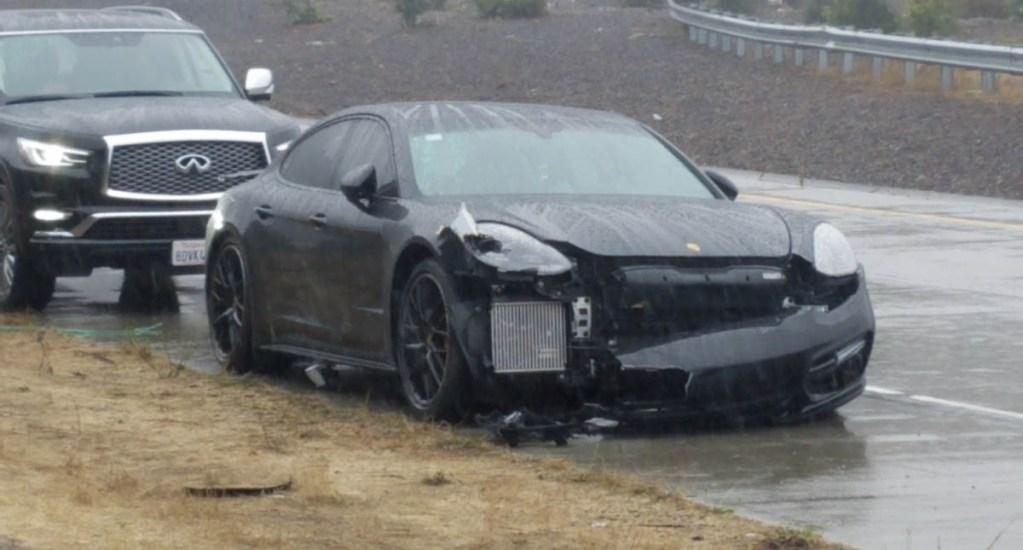 Stephen Curry sin lesiones tras accidente carretero - Foto de @AnserHassan