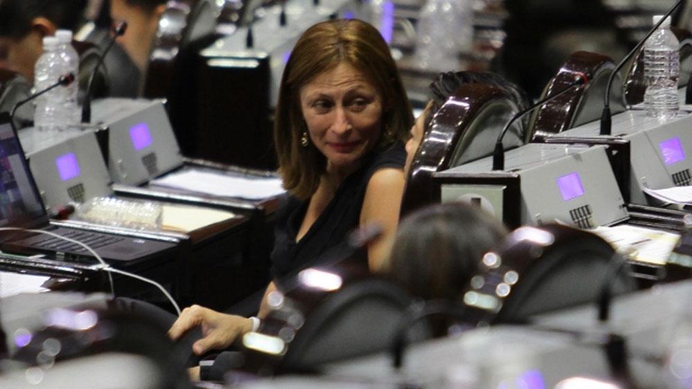 Congreso tiene facultades 'desde 1300 y feria': Tatiana Clouthier - Foto de Notimex