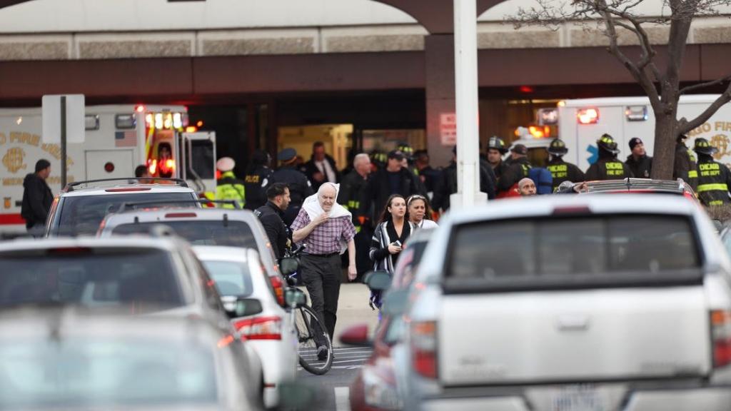 Un tiroteo, cerca de un hospital de Chicago, dejó varios heridos