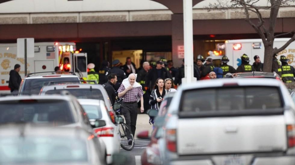 Tiroteo en área de hospital de Chicago deja al menos cuatro muertos - Foto de @chicagotribune