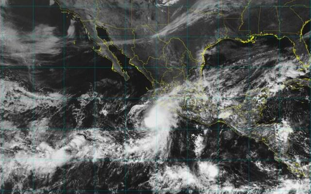 Tormenta tropical Xavier se fortalece en costas de Colima - Foto de @conagua_clima