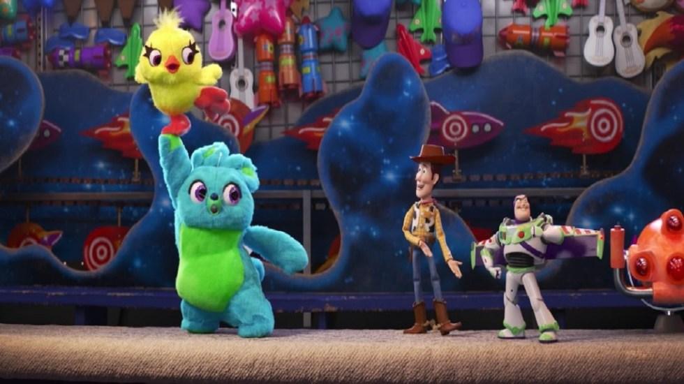 'Toy Story 4' sigue dominando las taquillas de Norteamérica - Nuevos personajes de Toy Story 4. Captura de pantalla