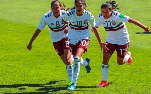 Tri femenil sub 17 empata con Japón y pasa a cuartos del Mundial - Foto de El Informador