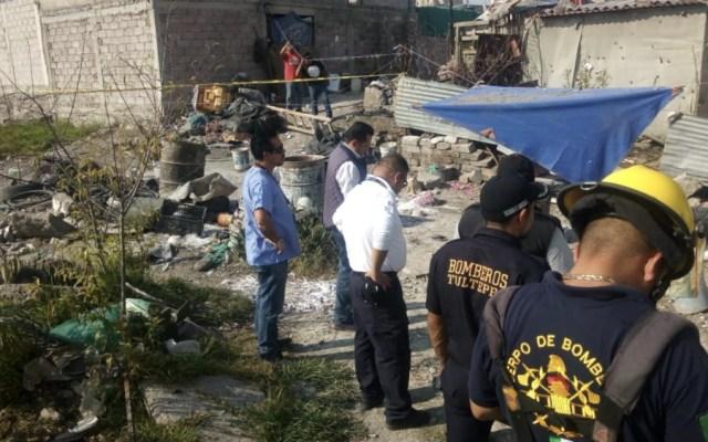Deja dos muertos estallido de pirotecnia en Tultepec - Foto de @AdNoticias3