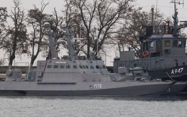 #Video Rusia captura tres buques militares de Ucrania - Foto de Internet