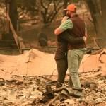 Incendio al norte de California eleva cifra de muertos a 81 - Víctimas del Camp Fire en Paradise. Foto de AFP / Josh Edelson