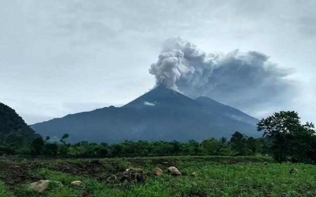 Volcán de Fuego continúa en fase eruptiva en Guatemala - Foto de Tribuna